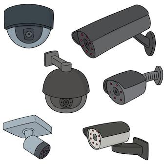 Conjunto de câmera de segurança