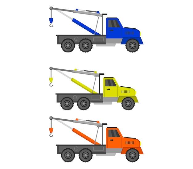 Conjunto de caminhão de reboque