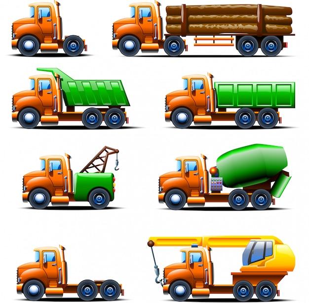 Conjunto de caminhão