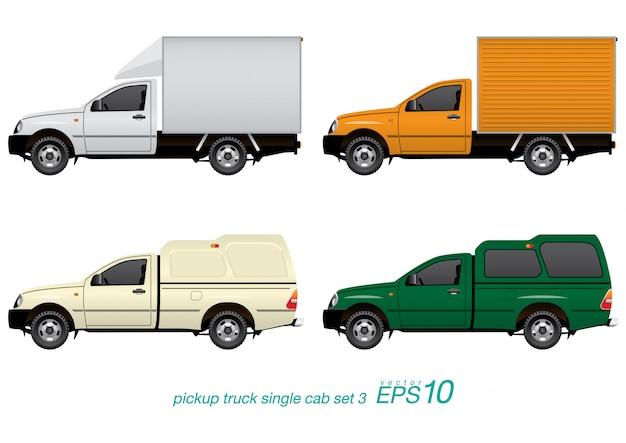Conjunto de caminhonetes
