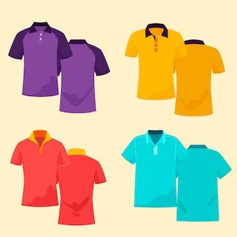Conjunto de camisa polo
