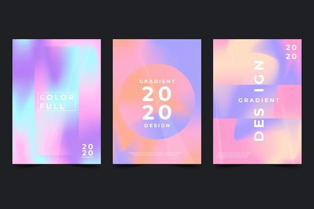 Conjunto de capa de gradiente de meio-tom
