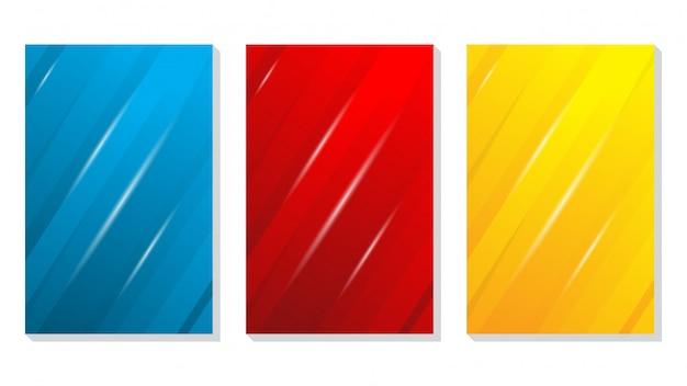 Conjunto de capa de gradiente