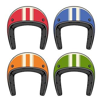 Conjunto de capacete