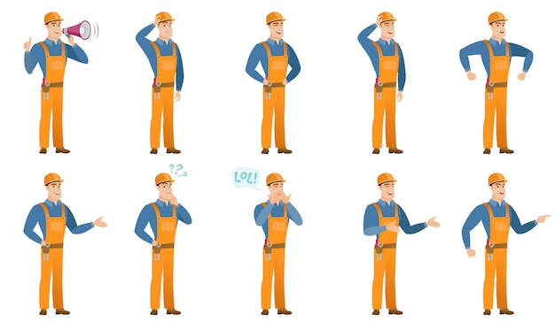 Conjunto de caracteres de construtor.