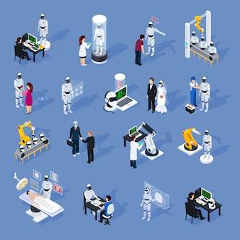Conjunto de caracteres de inteligência artificial