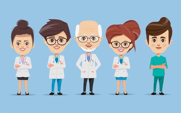 Conjunto de caracteres do médico