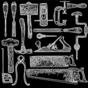 Conjunto de carpinteiro