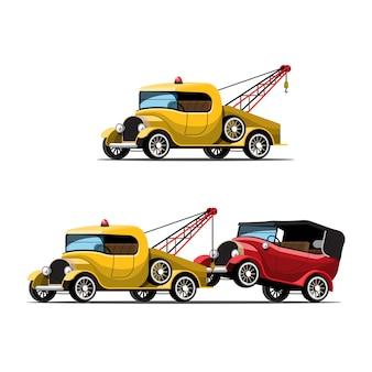 Conjunto de carros de reboque