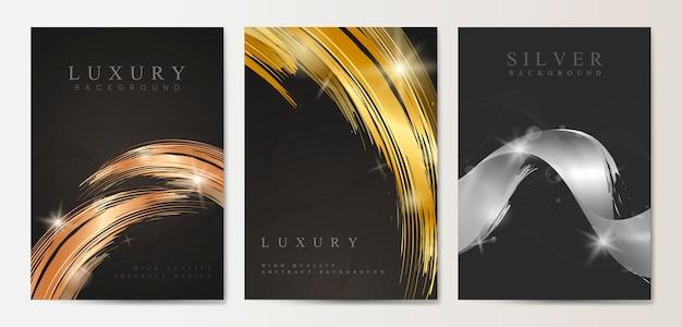 Conjunto de cartaz de luxo