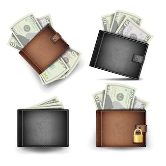 Conjunto de carteira