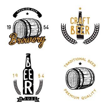 Conjunto de cerveja com tema