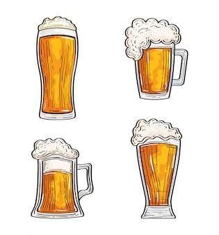 Conjunto de cervejas