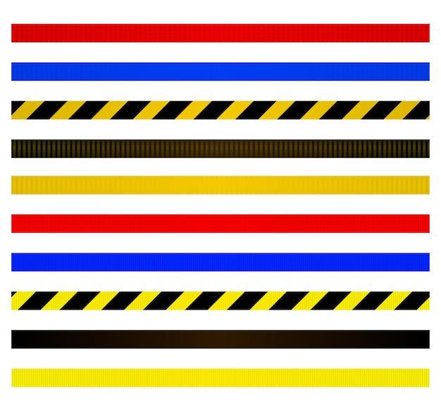 Conjunto de cintos para barreiras metálicas