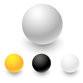 Conjunto de círculos coloridos para seu design