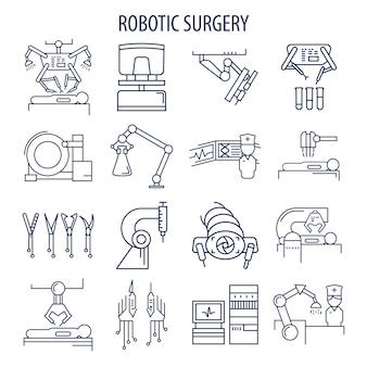 Conjunto de cirurgia robótica