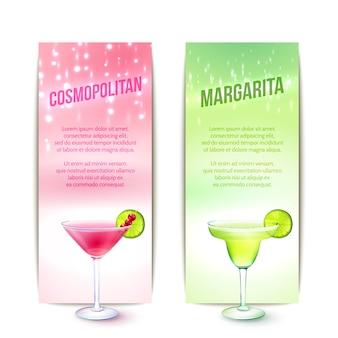 Conjunto de cocktails