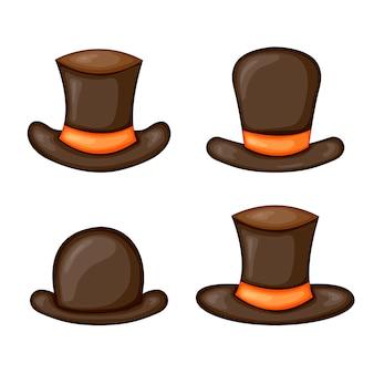 Conjunto de coleta de chapéu