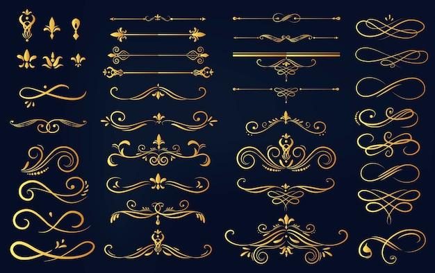 Conjunto de coleta de ornamento de rótulo