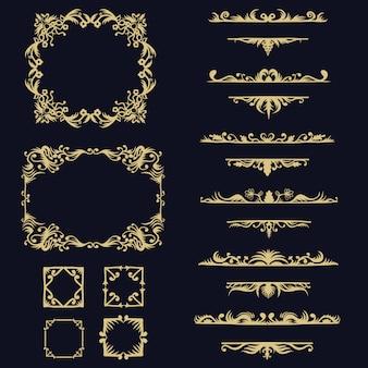 Conjunto de coleta de ornamentos