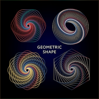 Conjunto de coleta de símbolos de geometria