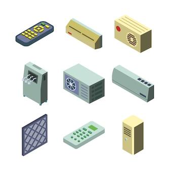 Conjunto de coleta do sistema de refrigeração do condicionador