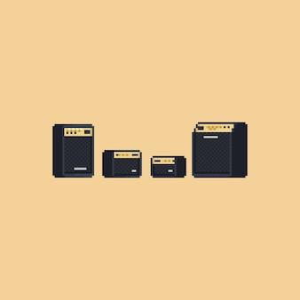 Conjunto de colunas de amplificador de pixel