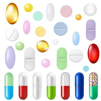Conjunto de comprimidos