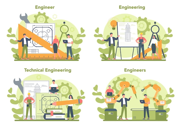 Conjunto de conceitos de engenharia