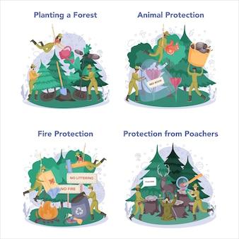 Conjunto de conceitos de forester