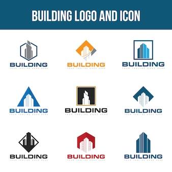 Conjunto de construção de logotipo
