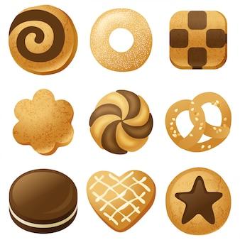 Conjunto de cookies
