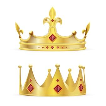 Conjunto de coroa