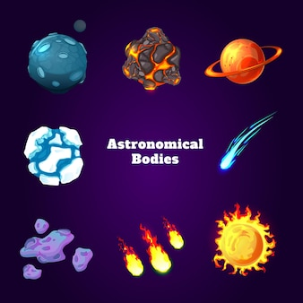 Conjunto de corpos astronômicos
