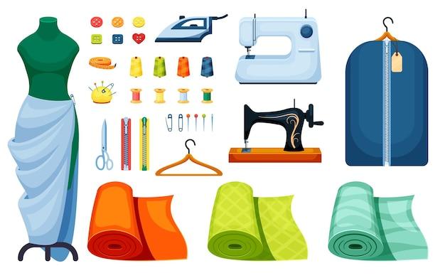 Conjunto de costura de suprimentos