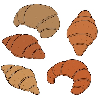 Conjunto de croissant