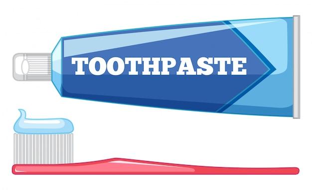Conjunto de cuidados com os dentes
