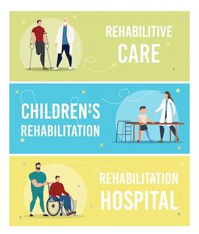Conjunto de cuidados médicos em pessoas com deficiência