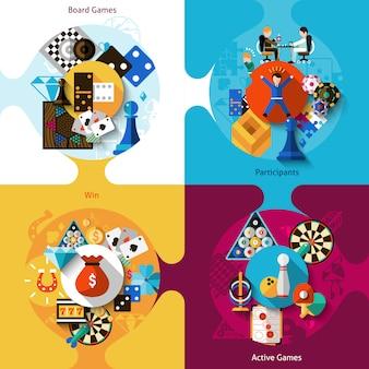 Conjunto de design de jogos