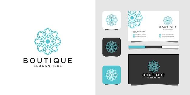 Conjunto de design de logotipo criativo náutico marinho e marinho âncora