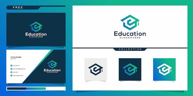 Conjunto de design de logotipo e cartão de visita