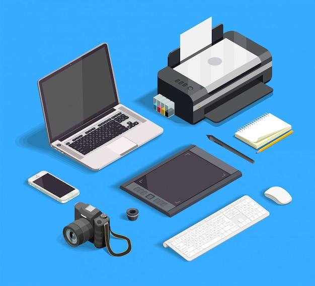 Conjunto de design gráfico