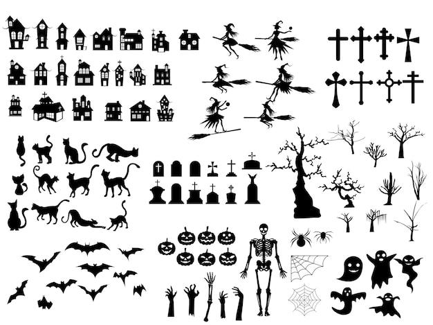 Conjunto de dia das bruxas