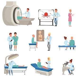 Conjunto de diagnóstico médico e tratamento de câncer