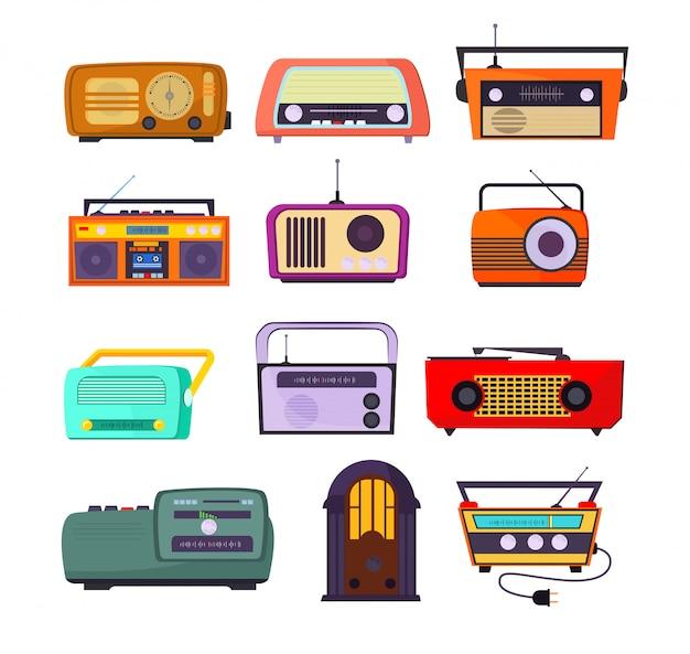 Conjunto de dispositivos de rádio