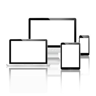 Conjunto de dispositivos móveis