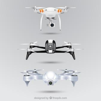 Conjunto de drones realista