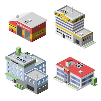Conjunto de edifícios governamentais