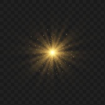 Conjunto de efeitos de luz.