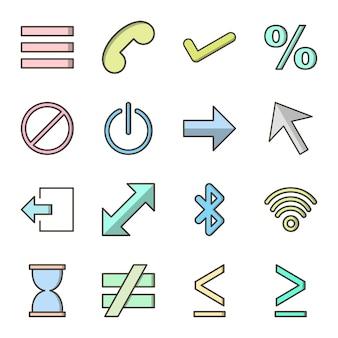 Conjunto de elementos básicos